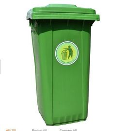 Green Plastic Molded Products Environmental Friendly For Park Or School