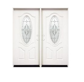Weatherproof SMC Pvc Bathroom Doors Customized Size Luxurious Appearance