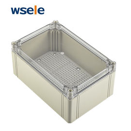 China IP66 External Electrical Junction Box Transparent Plastic Enclosure Easy Use supplier
