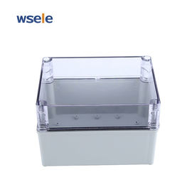 ABS Transparent Cover Waterproof Junction Box Outdoor Plastic Electronic Enclosure IP65