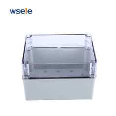 China ABS Transparent Cover Waterproof Junction Box Outdoor Plastic Electronic Enclosure IP65 supplier