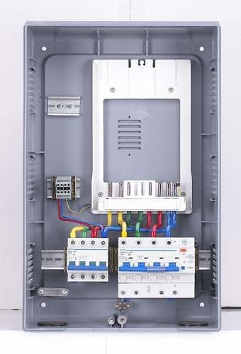 High Precision Three Phase Meter Box , Customised Size Domestic
