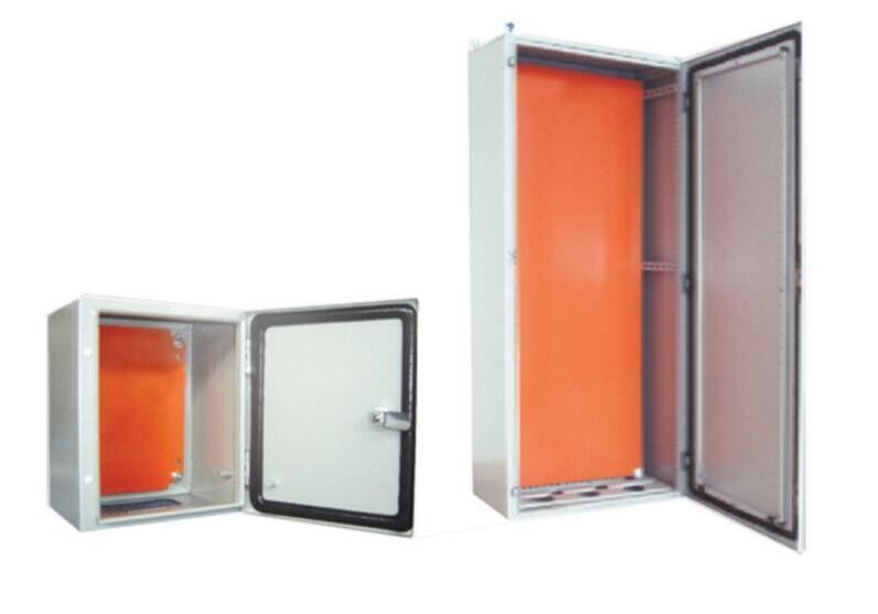 Grey Stainless Steel Electrical Cabinets Steel